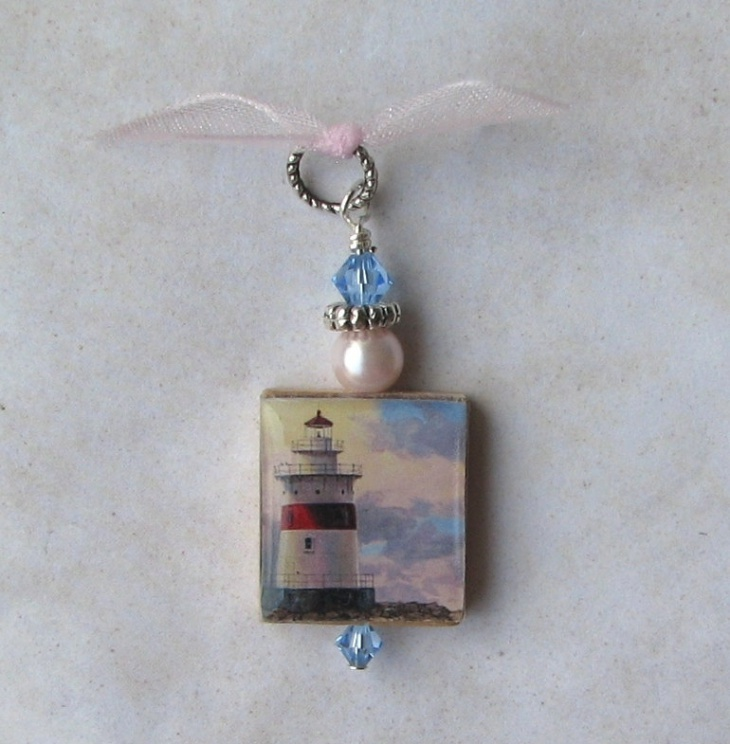 Crystal Lighthouse Pendant