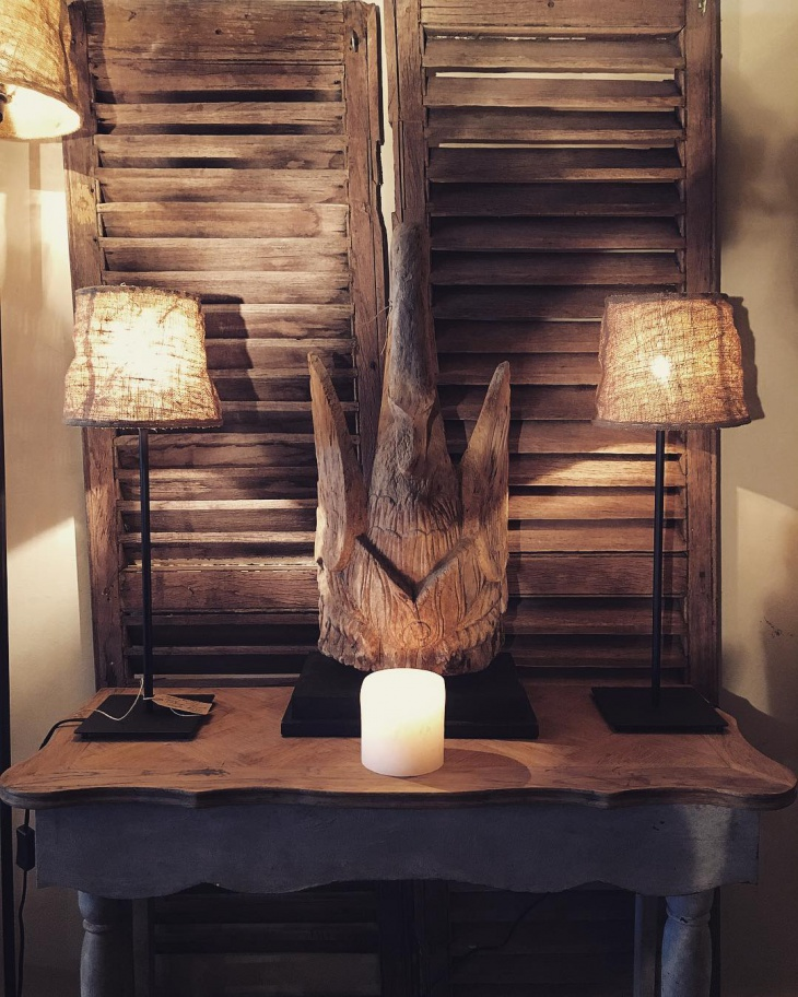 burlap diy lamp shade