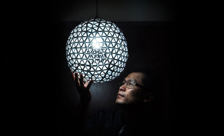diy lamp shade ball