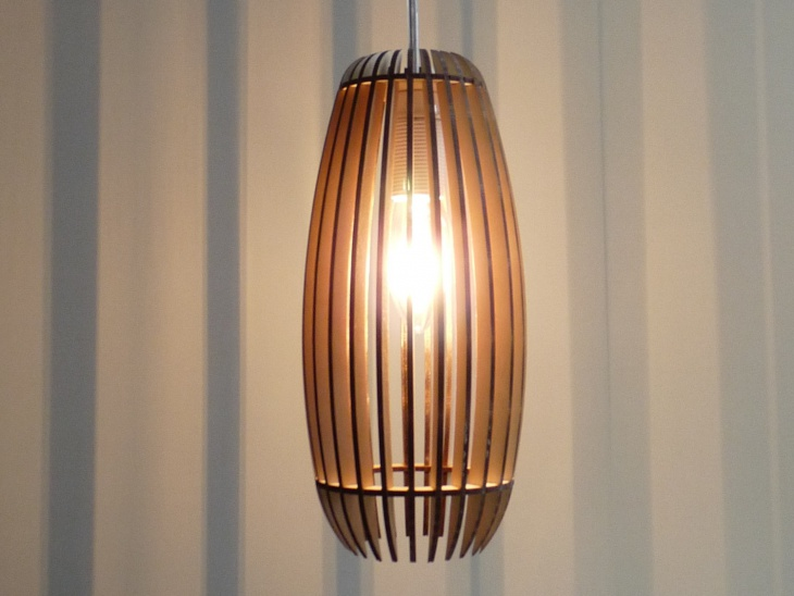 wooden lampshade idea