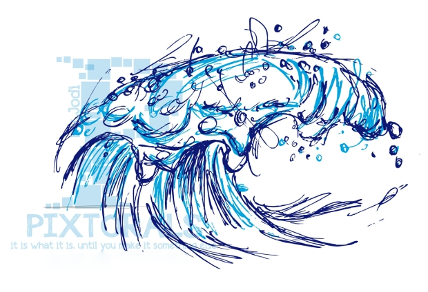 Swimming Wave Vector