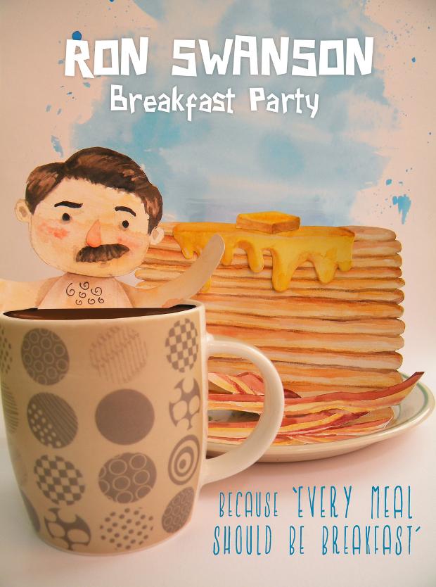 Breakfast Party Invitation