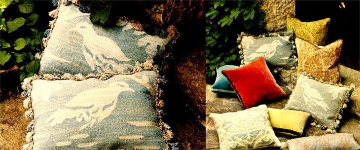 casa florentina herring handwoven pillow