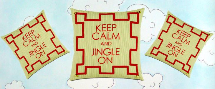 seasonally chic hark jacobs throw pillow