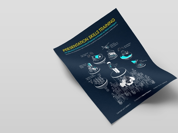 presentation training brochure