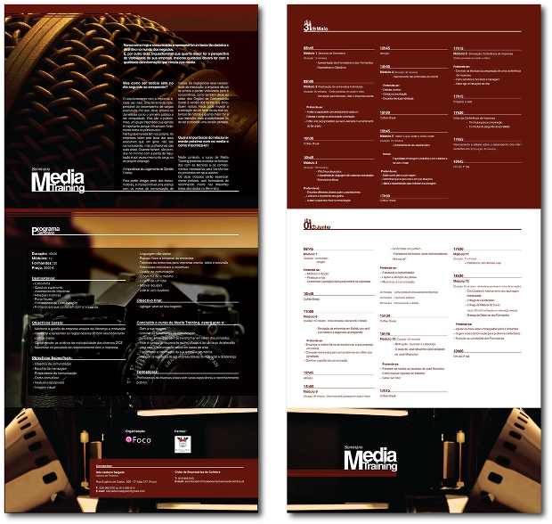 media training brochure
