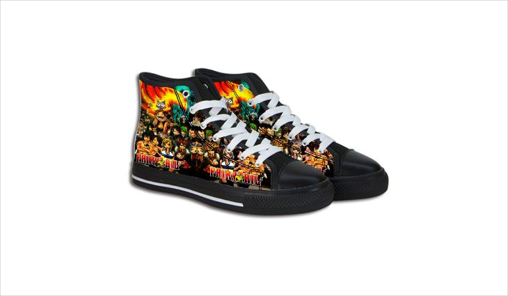 fairy tail anime shoes