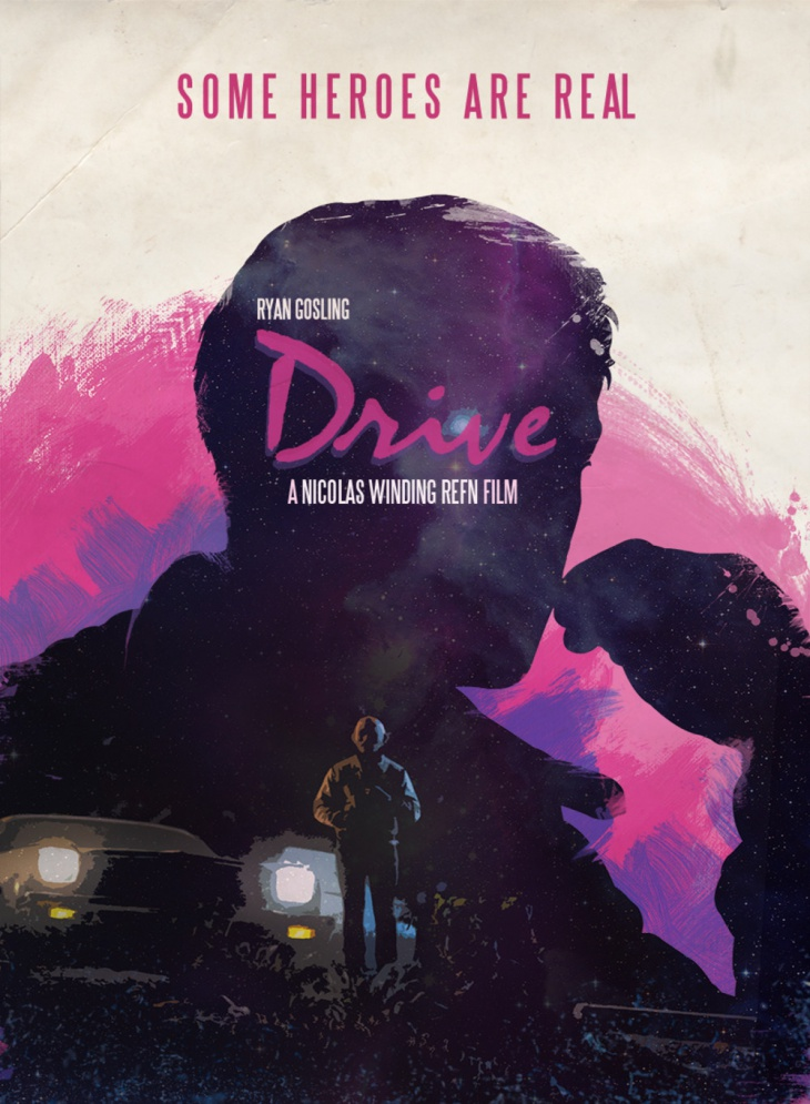 drive movie poster by luis fernando cruz