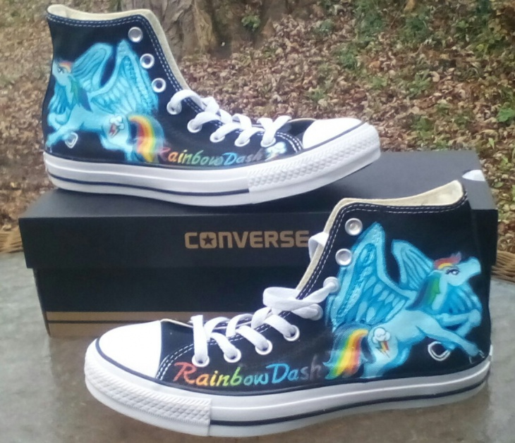 anime high top sneakers