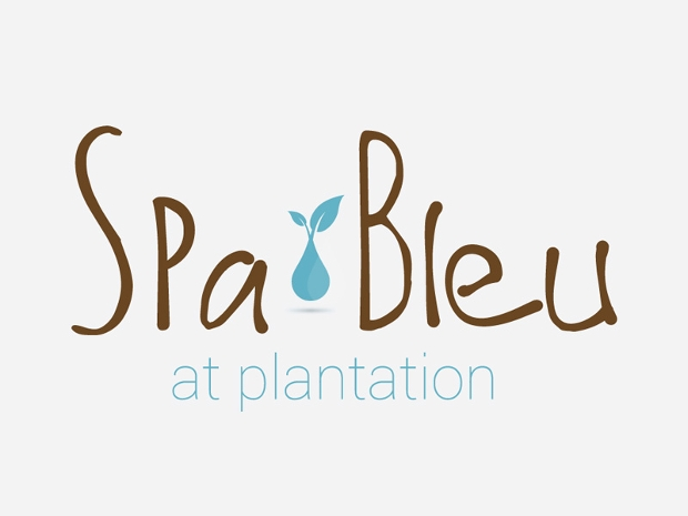 spa bleu logo design