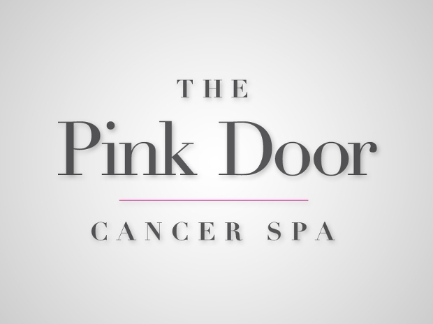 Pink Door Cancer Spa Logo Design