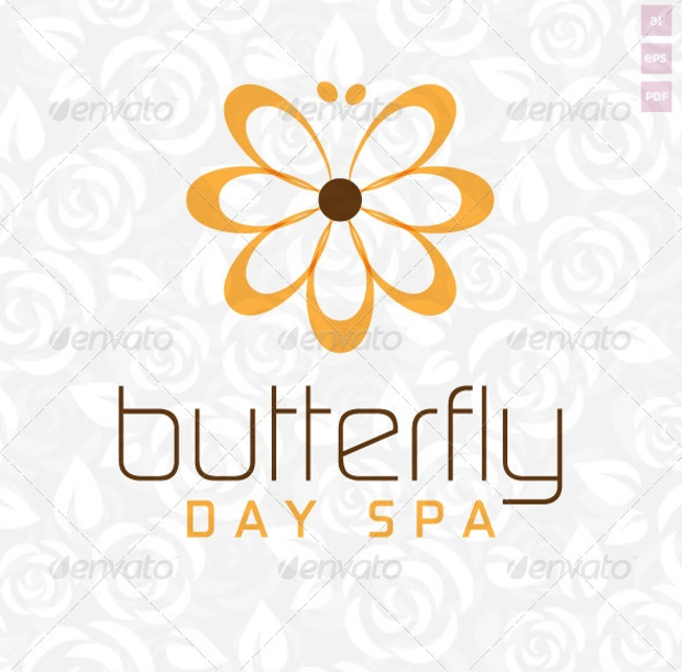 Butterfly Day Spa Logo
