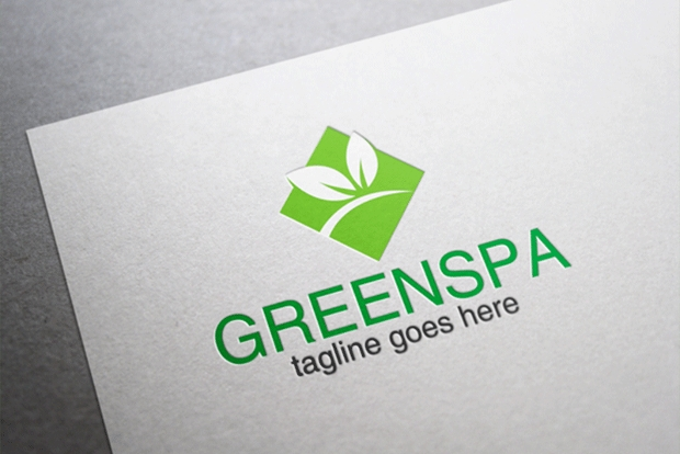 Green Spa Logo Design