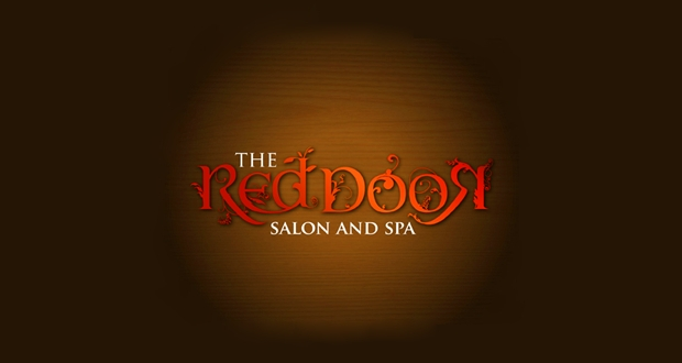Red Door Salon and Spa Logo Design
