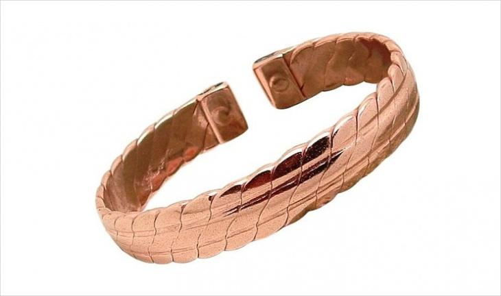 Solid Copper Bracelet Design