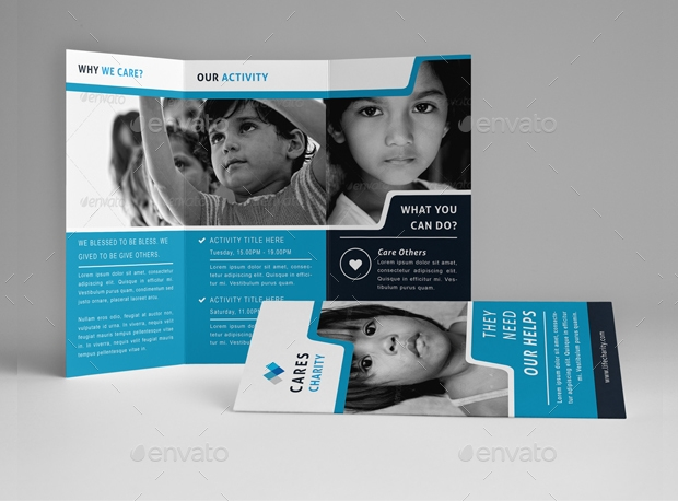 19+ Non Profit Brochure Designs and Templates | Design Trends ...