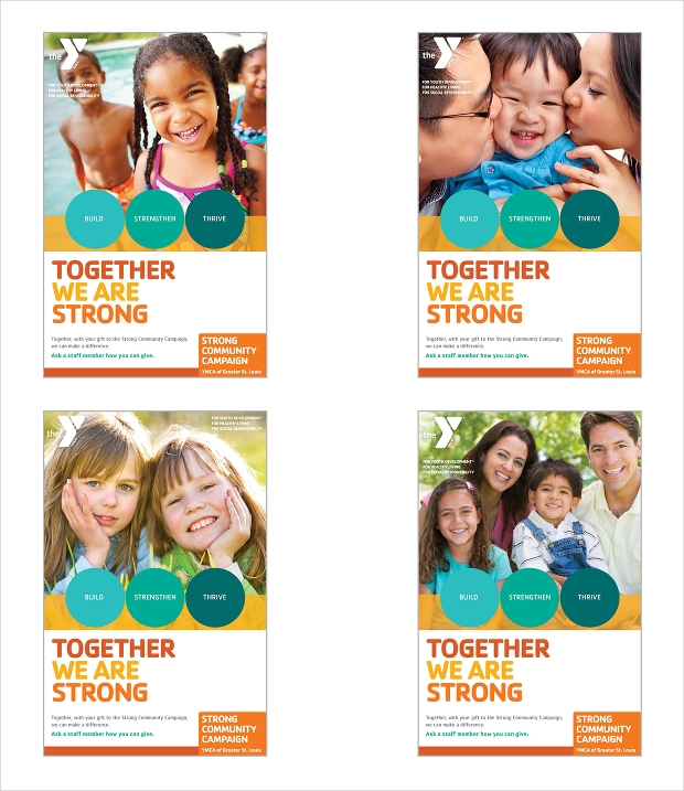 YMCA Strong Community Campaign Brochure