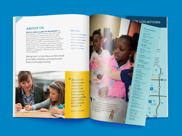 Boys & Girls Clubs of Arlington Brochure