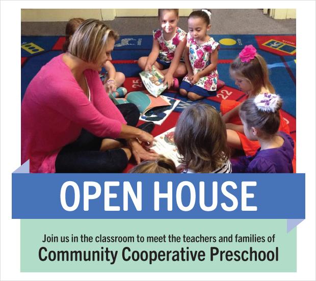Community Cooperative Preschool Brochure