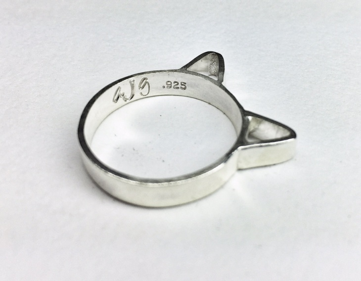 cat ears ring design