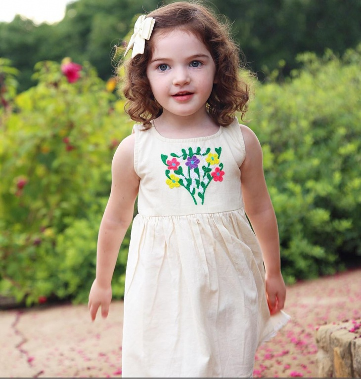 Bebe Embroidered Dress Design