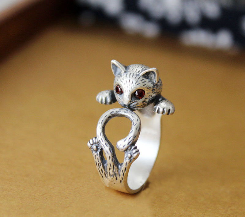 kitty cat ring design
