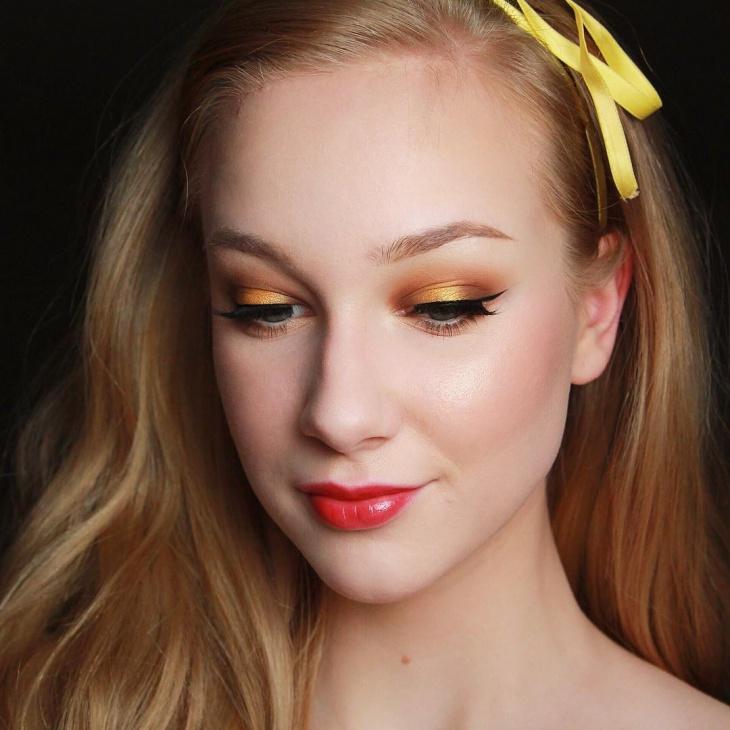 disney princess eye makeup