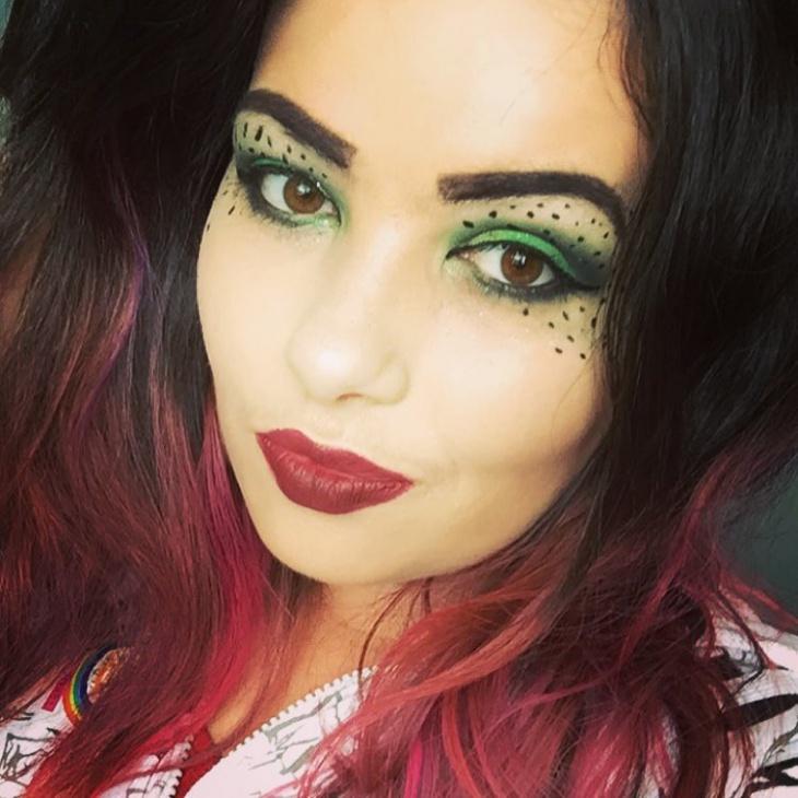 disney inspired eye makeup