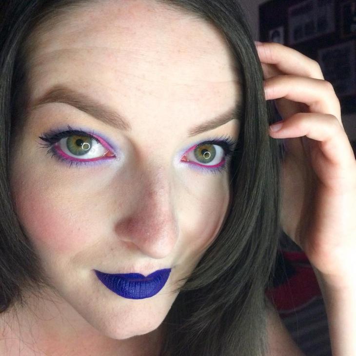 disney themed eye makeup