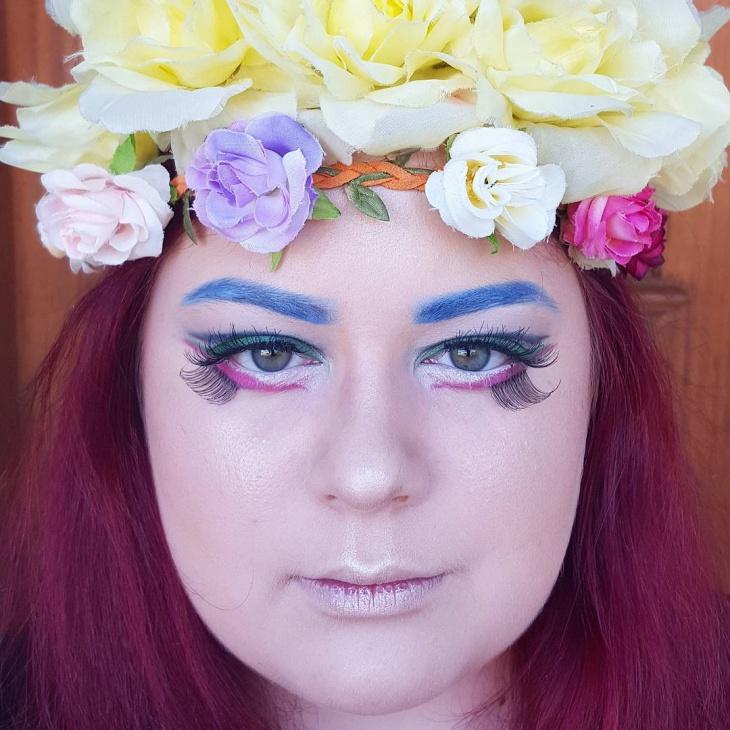 pretty disney eye makeup