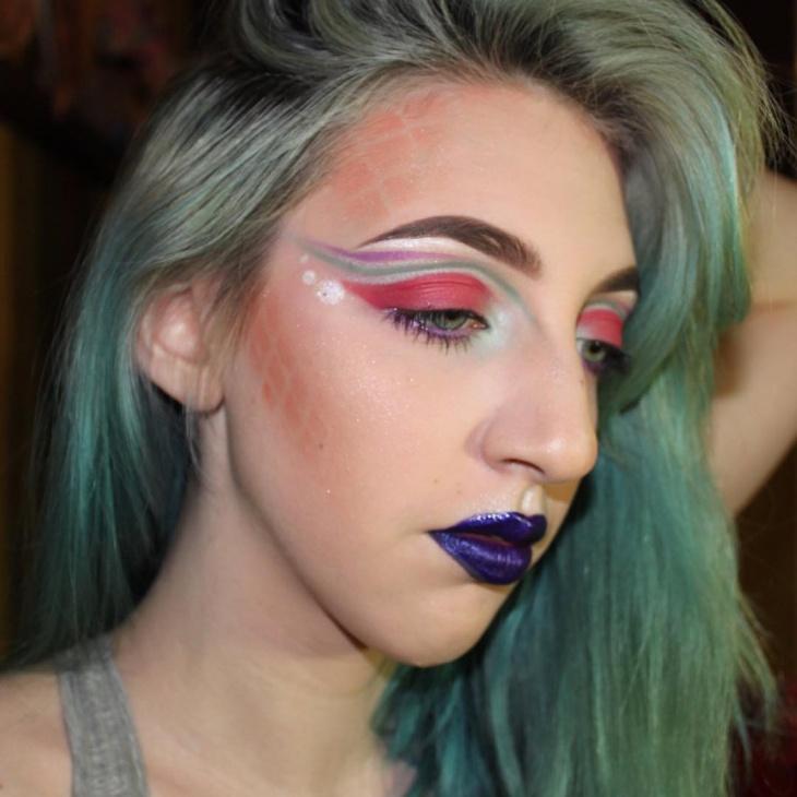 creative disney eye makeup