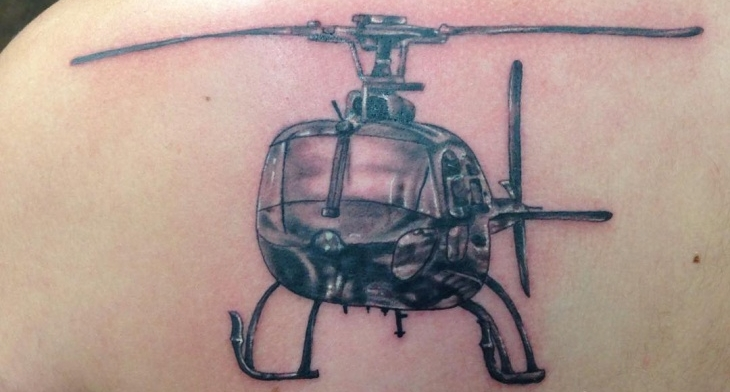 21 Helicopter Tattoo Designs Ideas Design Trends Premium Psd