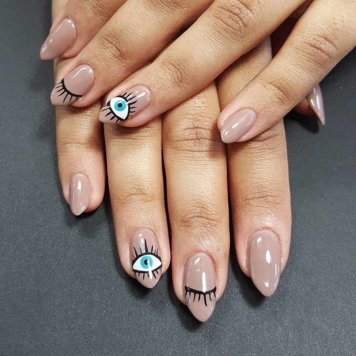 21+ Eye Nail Art Designs, Ideas | Design Trends - Premium PSD ...