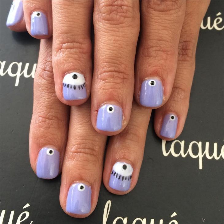 eye gel nails idea