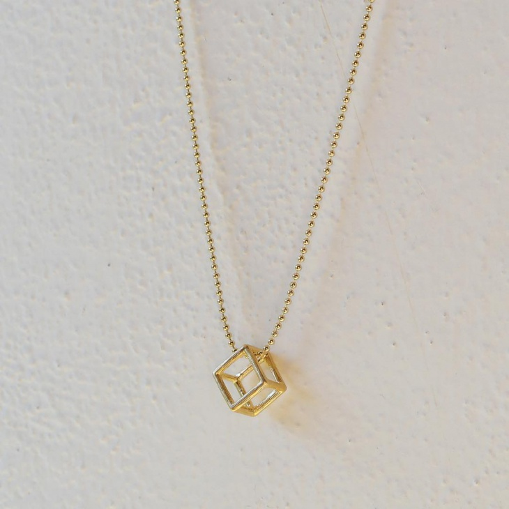 21+ Cube Necklace Designs, Ideas | Design Trends - Premium PSD ...