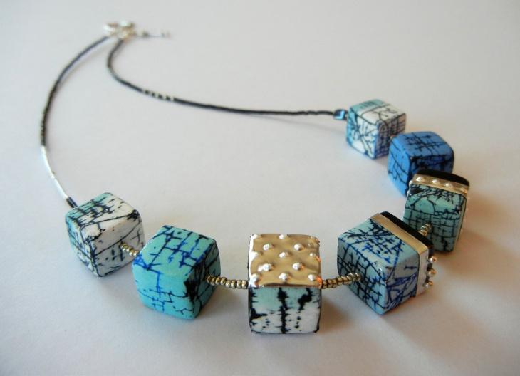 unique cube neckalce