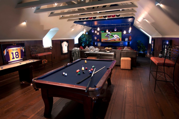 Pool Room Design Ideas Part - 50: Game Room Furniture Idea
