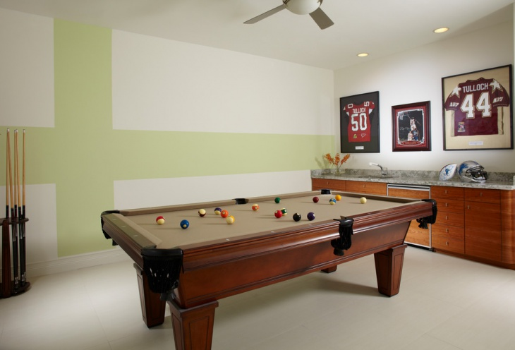 game room wall decor