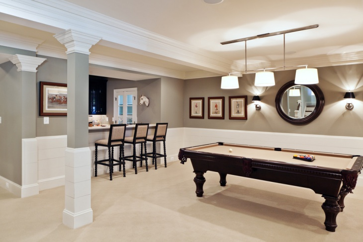 basement game tables