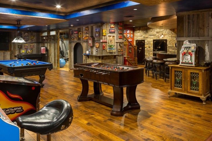 20+ basement game room designs, ideas | design trends - premium