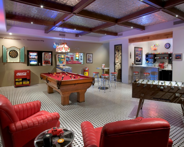 20 Basement Game Room Designs Ideas Design Trends