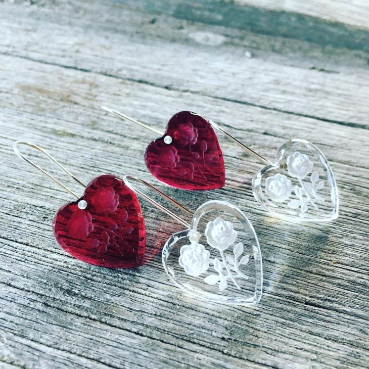Gorgeous Heart Earrings