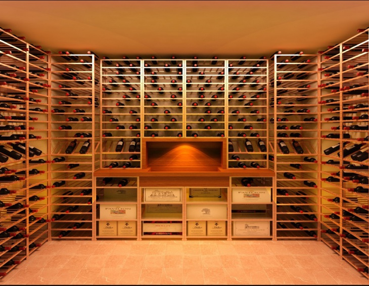 cool basement wine cellar