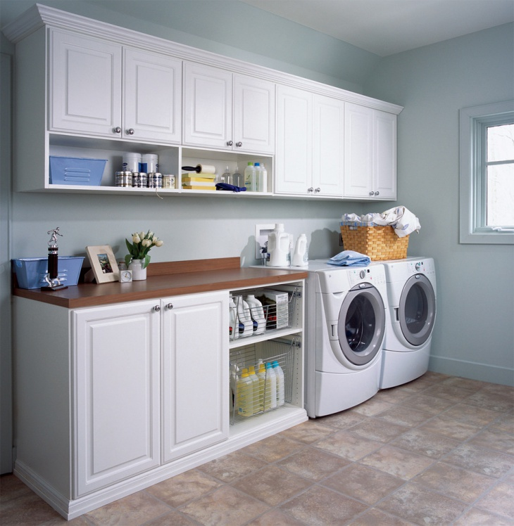 60 Beautiful Small Laundry Room Designs: 18+ Basement Renovation Designs, Ideas