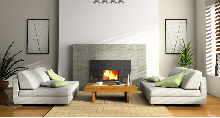 17+ Modern Fireplace Designs, Ideas | Design Trends - Premium PSD ...