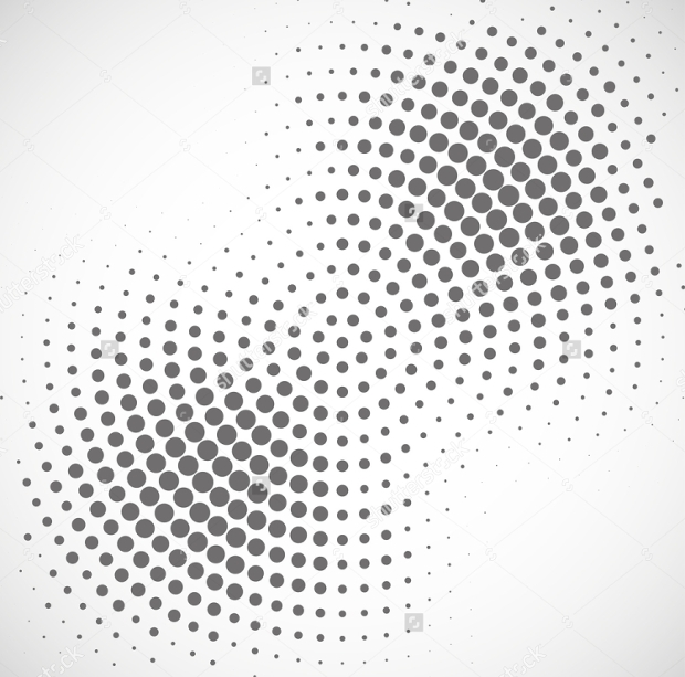 abstract dotted halftone vector