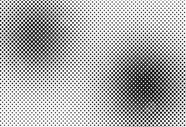 halftone dots vector design