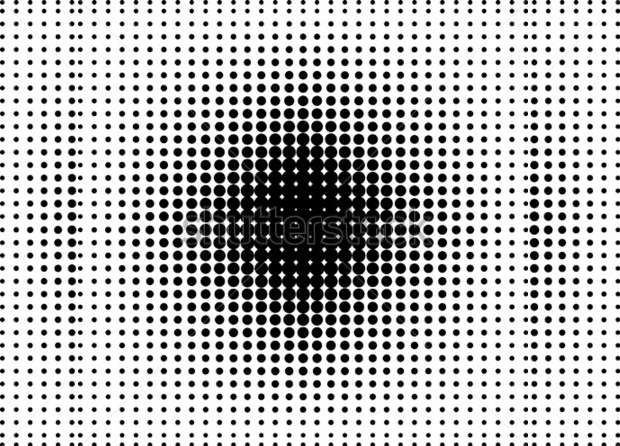dots halftone vector