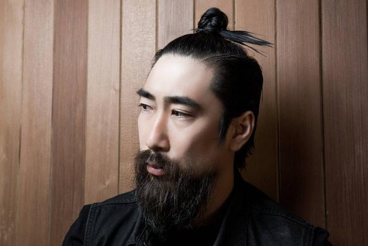 Top Knot Hair with Beard