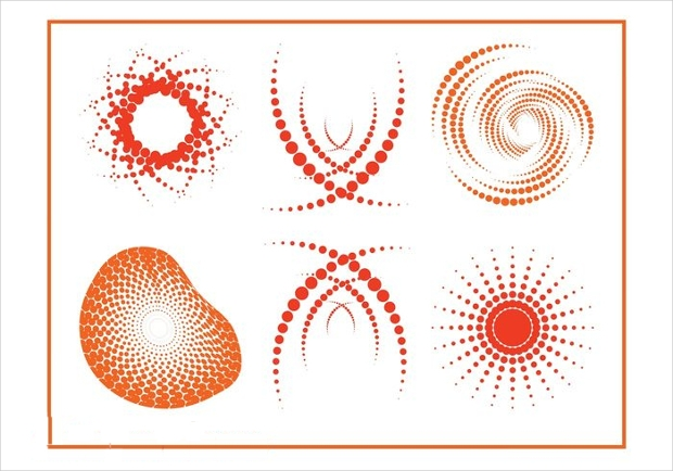 Halftone Vector Designs